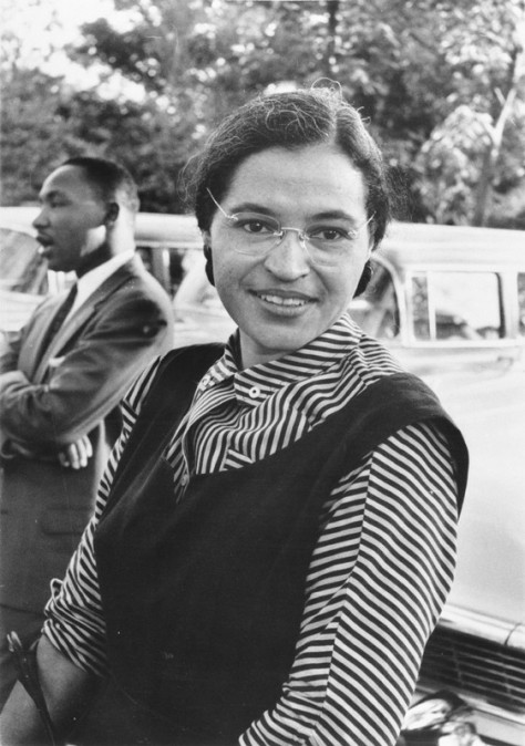 """Each person must live their life as a model for others.""  --Rosa Parks"